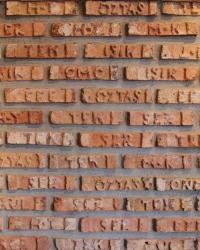 Orjinal Yazılı Selçuklu Tuğla
